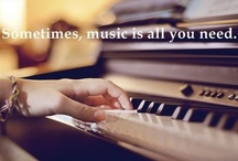 Music: Life is a song, sing it! / by Barb