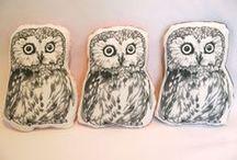 cuddly ♥ owls ♥ cuddles / Knuffels à la carte ♥ owl cuddles