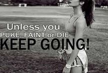 I work out! / by Kelli Schumacher