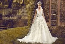 Fiore Collection 2014 / Bridal gown designer Jorge Manuel's latest collection for 2014. A collection inspired by the world's most gorgeous gardens and its flowers. Each dress named after the flower it was inspired from.