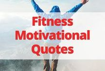 Fitness Motivational Quotes / Want some motivation for your weight loss journey? These fitness quotes are what you need!