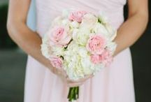 Wedding Bouquets / A wide variety of wedding bouquets with varying colors!
