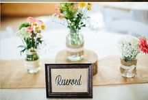 Vintage & Country Themed Weddings / Ideas for those who like are interested in a more vintage feel for their wedding; this may include mason jars, weddings held in old barns, distressed colors and more!