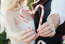 Winter Themed Weddings / Ideas for those with a love for everything winter. This category may include icicle decorations, snow themes and more!