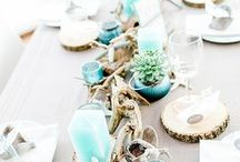 Spring & Summer Themed Weddings / Ideas for those who want their wedding in the summer or spring. These include ideas for outdoor weddings, bright colors and fun!