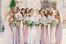 Bridesmaids & Groomsmen / Dresses, tuxes, gifts and more for those important people by your side!