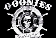 g o o n i e s . / NEVER SAY DIE!