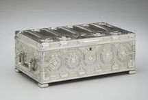 Stories in Sterling (Silver) / The New-York Historical Society's silver collection includes over 3,000 objects spanning four centuries. From simple spoons to extravagant trophies, many of these artifacts are linked to significant moments in the history of New York and the United States.