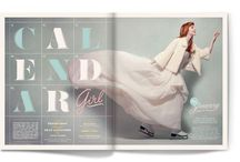 Editorial inspiration / Magazines, pictures an typography that inspires me to work more creatively...