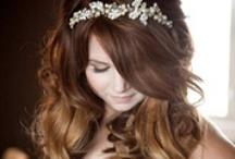 Wedding hair dos