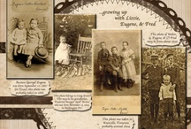 Scrapbook page layouts - Heritage / by Diane Anna
