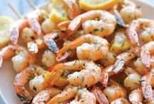 From the Sea / Fish/seafood recipes / by Rebecca Teel