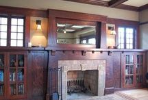 Craftsman Fireplaces / by Gail Silveira