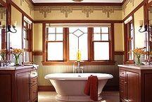 Craftsman Baths / by Gail Silveira