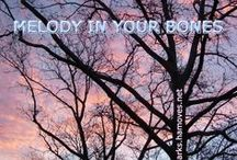 """sw 43a: Melody in Your Bones / """"Release the melody stored in your bones."""" (Inspirational quote for Soulful Week 43A by Soulful Wizardess Marta Stemberger, http://soulfulsparks.hamoves.net/melody-in-your-bones-3/)"""