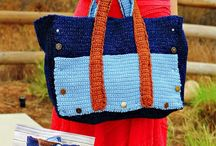 Crochet Bags and Baskets / This board will have free and paid pattern all related to bags and baskets that are made using crochet