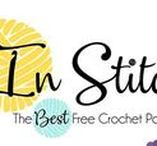 In Stitches - Free Crochet Pattern Party / This is the Best Free Crochet Pattern Party ever! Link up your free crochet patterns or check out the entire stunning collection of free patterns that grows daily