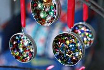 Handmade Ornament Ideas / Nothing's more personal than a handmade Christmas ornament. Using these Christmas ornament crafts, learn to make simple homemade christmas ornaments that look store-bought. / by AllFreeChristmasCrafts
