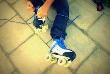 Skate On! / Roller skates on the photos / Patines en las fotos