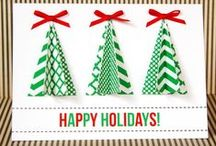 Handmade Christmas Cards / Christmas cards are one of the most important ways we connect with families on Christmas, so make your own Christmas cards to show you care. There are paper crafts, as well as projects using stamps and scrapbook materials. Send all of your loved ones unique Christmas cards this year.  / by AllFreeChristmasCrafts