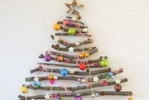 Christmas Tree Crafts / Create thrifty and fun tabletop trees, as well as craft trees for every room in the house. These tree crafts transform craft materials like beads, paper, fabric, and ribbons into an essential part of your Christmas home decor.  / by AllFreeChristmasCrafts