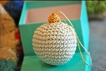 Crochet Christmas Ornaments / Make crochet Christmas ornaments this year with your scrap yarn and you won't be disappointed. Some of our favorites include crochet snowflake patterns and crochet Christmas wreath ornaments. Learn how to crochet Christmas ornaments with these free crochet patterns. / by AllFreeChristmasCrafts
