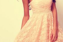 Lace Dresses / by Cassidy Wisnom