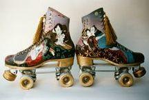 Funky Roller Skates / A collection of funky roller skates / Una colección de patines chulos