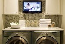 Laundry Room 'Best of...Ideas' / This collection of Laundry Room ideas came from all of the great pins I've collected since being on Pinterest.  Love them all.