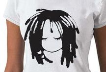 Afro T Shirts / Creative hair T shirts that inspire pride. / by Cassandra Bromfield