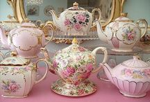 Tea Time! / Tea cups, tea pots, cake stands, tea party recipes
