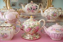 Tea Time! / Tea cups, tea pots, cake stands, tea party recipes
