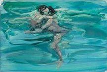 Painting: Water,Swim!