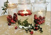 Christmas Tablescapes / diy christmas centerpieces, easy christmas centerpieces, easy christmas decorations to make, easy christmas centerpiece ideas, christmas tablescapes, christmas table decoration ideas, table decorations for christmas, diy christmas centerpiece, christmas table settings, simple christmas centerpieces, christmas table decor, homemade christmas centerpieces, christmas dinner table decor, christmas table decorating ideas / by AllFreeChristmasCrafts
