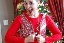 DIY Ugly Christmas Sweater / tacky christmas party, diy ugly sweaters, diy ugly sweater ideas, diy tacky christmas sweater, diy ugly christmas sweater ideas, christmas sweater party, tacky christmas party ideas, ugly christmas sweater diy, tacky sweater party, how to make a tacky christmas sweater, christmas tree ugly sweater, ugly christmas sweater day, diy ugly christmas sweaters, ugly sweater christmas party, my ugly christmas sweater, ugly sweater contest ideas, diy ugly christmas sweater / by AllFreeChristmasCrafts