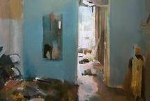 Painting: Interiors! / art