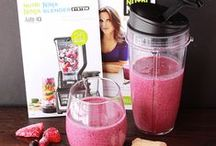 Smooooothiessss / I love my morning smoothies, but in my effort to be healthier and mix it up, I bought the Nutrition Ninja and am really mixing it up / by A Visual Business