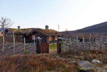 Cabin fever / Hyttedrømmer. Lovely cabins,  mostly Norwegian