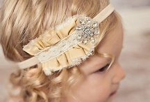 Headbands, barrettes and bows / by Love Jen M.