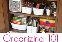 Organizing ideas / One day I will be unpacked and organized!   / by Christy Ahdan
