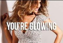 You're Glowing / Nothing goes better with a special occasion than a golden glow!