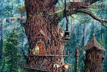 Fairy Art World  / Cicely Mary Barker Fairies and Others / by Kim Hernandez