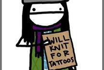 Knitting & Craft Tattoos / by Kim Hernandez