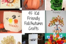 Fall Kiddo Art & Crafts / Oh it's a rainy day... Let's craft!!  / by Christy Ahdan