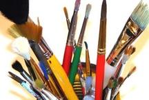 Classroom art ideas / Bringing back art / by Christy Ahdan
