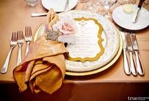 Wedding Dining Menu's