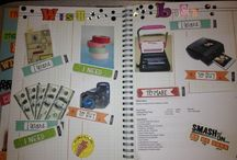 Smash book ideas / by Tasha Scott
