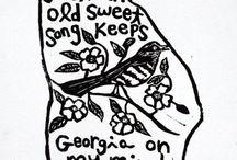 southern girl. / --Georgia--