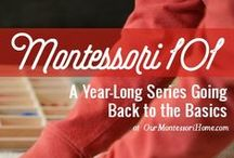 Montessori / I blog about our Montessori journey at www.ourmontessorihome.com. Here I share Montessori activities, philosophy, and resources we've done as well as other great ideas from the Montessori community. / by Jessica Mueller