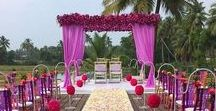 Indian Wedding Decor   Mandap designs   Mandap Decor / Whether you want an indoor wedding or an outdoor wedding, Mandaps are the focal point of any South Asian wedding.  Come see some real weddings at www.Shaadi-Bazaar.com  Visit our boards from Alankar and Shagun too